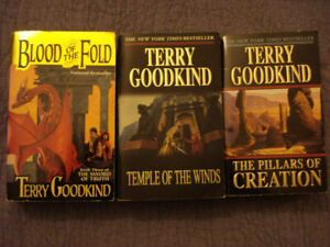 The Sword of Truth (Books 3, 4 & 7) by Terry Goodkind, SOFTCOVER
