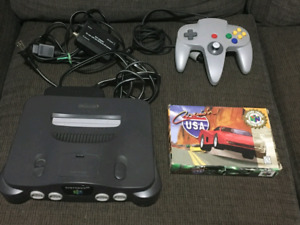 Nintendo 64 with Boxed Copy of Cruisin USA