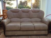 3-seater leather sofa for sale