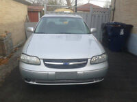 2001 Chevrolet Malibu! With LOW KM + BRAND NEW WINTER TIRES!