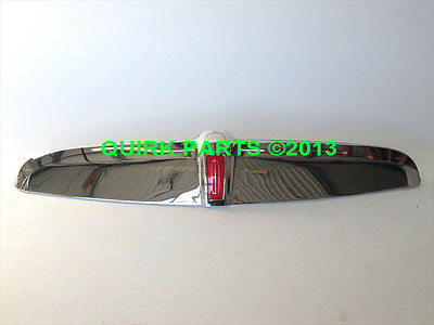 1998-2002 Lincoln Town Car Chrome Grille Moulding With Red Emblem OEM NEW Oem Chrome Grille