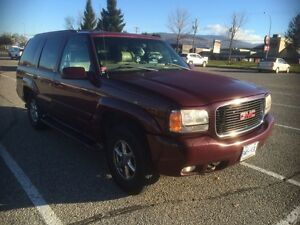 99 Yukon Denali Awesome SUV $4700