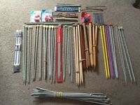 Quantity of Knitting needles and accessories