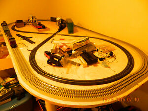 Lionel and Bachman Trainset on table. $500 obo Peterborough Peterborough Area image 2