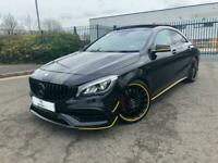 2013 (63) MERCEDES-BENZ CLA 45 AMG 4MATIC 2.0 PETROL COUPE AUTOMATIC 360 BHP