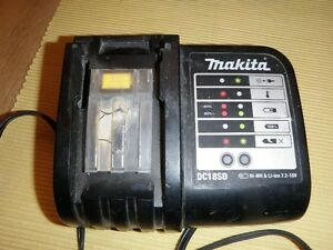 Makita 18 volt lithium-ion battery charger