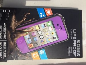 IPhone 4 or 4S Life proof  case.
