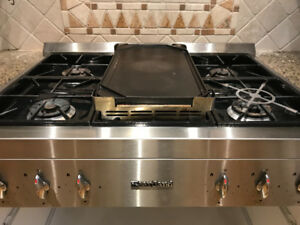 Heartland 6 Burner Gas Stove Top