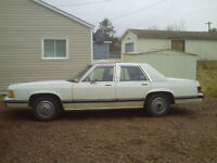 1989 grand marquis for sale