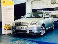 Toyota Avensis 2.0 D-4D T3-X 5dr FULL SERVICE HISTORY 1 OWNER 2005