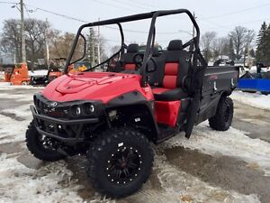 2017 Mahindra mPACT 750 4X4 Long Box, 3 Year Warranty*