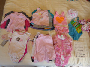 6-12 months Girls' lot In Great Used Condition!