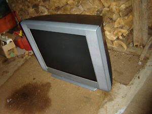 TVs [old] Computers [old], cheap, still work.