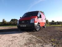 Ford Transit 2.2TDCi SWB l/r 2006/56 1 owner VERY LOW MILEAGE ONLY 50k miles
