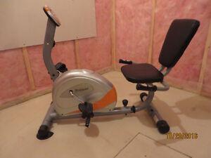 Exercise, bike, recumbent