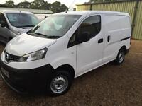 NISSAN NV200 SE DCI electric pack, revering camera, White, Manual, Diesel, 2012