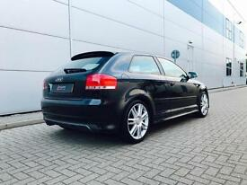 2007 56 reg Audi S3 2.0T Quattro Black + Black Leather