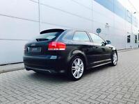 2007 56 reg Audi S3 2.0T Quattro Black + Black Leather