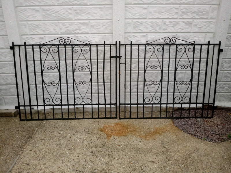 Double Wrought Iron Gates In Alford Lincolnshire Gumtree