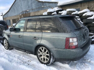 2007 LAND ROVER RANGE ROVER sport HSE for parts