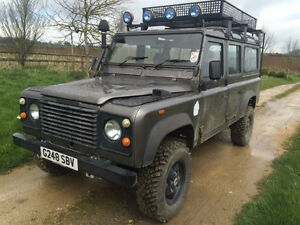 Land Rover Defender 110 V8 galvanized chassis Peterborough Peterborough Area image 1