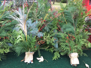 Christmas Branches Boughs for Urns, Planters