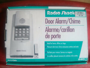 Radio Shack Door Alarm