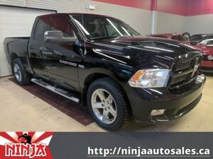 2012 Ram 1500 Sport 4x4 Quad Cab-Leather-Sunroof-AC Seats
