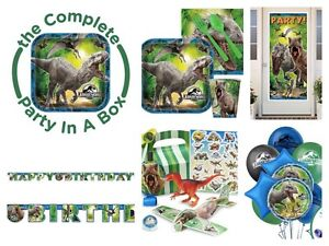 Jurassic world and/or dinosaur party supplies
