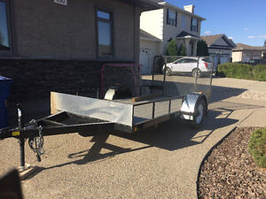 C Jay 12by6 Utility trailer