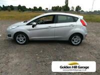 2013 Ford Fiesta 1.6 ZETEC 5DR SEMI AUTOMATIC Hatchback Petrol Automatic