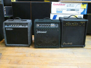 We Have several Guitar Amps For Sale At Nearly New Port Hope