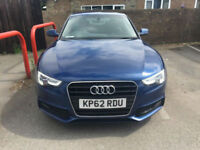 2012 62 Audi A5 2.0TDI S Line 177 BHP DIESEL 6 SPEED FASH NAPPA LEATHER SAT NAV