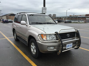 1999 Toyota Land Cruiser SUV, Crossover