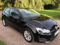 2013 13 Volkswagen Golf 2.0TDI ( 150ps ) ( s/s ) SE 3dr Black