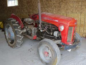 Tracteur Massey Ferguson 1952 à vendre