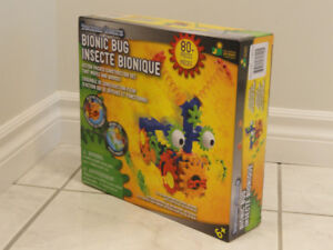 NEW!   TECHNO GEARS BIONIC BUG 80+PIECE CONSTRUCTION SET
