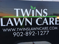Twins Lawn Care, Now booking lawn care customers for the season!
