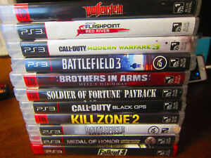 PS3 GAMES FOR SALE • 11 Games • Changeable Deal!!