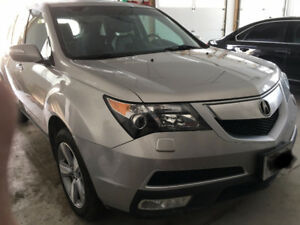 2012 Acura MDX SUV, Grea condition with DVD Player + head phones