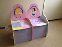 Disney Princesses storage bench