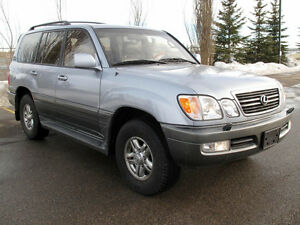 2001 Lexus LX SUV - Top of the Lexus Lineup in GREAT condition