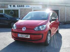 2012 Volkswagen up! 1.0 Take Up 3d **£20 Road Tax**