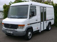 MERCEDES VARIO 814D MOBILE LIBRARY CAMPER DAY VAN MOTOR HOME RACE TRUCK BUS VAN