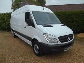 2013 63 MERCEDES-BENZ SPRINTER 313 2.2CDI LWB VERY CLEAN VAN 1 OWNER 4M VAN
