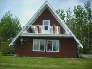 Large A-Frame Cottage next to Sandy Beach on Gulf Shore $900