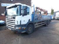 Scania brick lorry