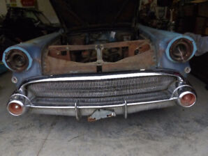 rare 1957 buick roadmaster,restore,restomod or parts