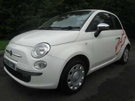 09/59 FIAT 500 POP 1.2 3DR HATCH IN WHITE