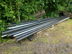 Steel pipe, angle and conduit